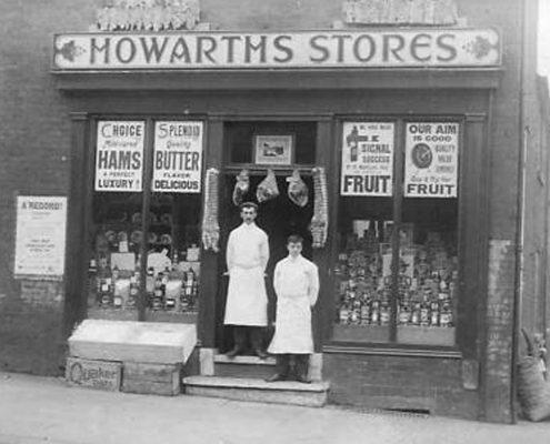Howarths Stores, Middleton 19th Century