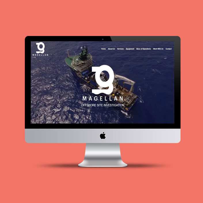 Magellan Deep Sea Web Design